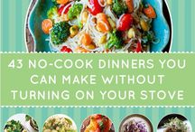NO Cook - NO Bake Recipes / A Collection of Delicious Recipes that require no cooking or baking in its preparation. Great for days too busy to cook! To join, follow board and comment. Thanks! No Cook Recipes, No Bake Recipes ONLY. Duplicates will be removed.