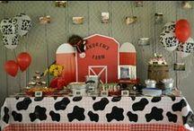 Brexton's 1st Birthday / Barn yard bash  / by Jenny Kinker Cole