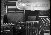 The Print Room / Shots of our print room & printing presses.