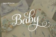 Baby / Our baby announcements, baby shower invitations, and stationery for wee ones. How can we make your special little one shine? Contact us at info@paperandhome.com or 702.776.8243.