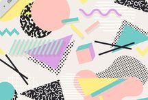 Pattern, Print + Colour Palettes