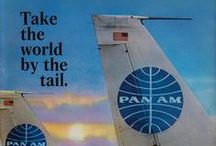 Pan AM & TWA / My first flight ever was on TWA in 1985 going to Disneyland with my Grandma & brother. <3