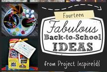 Back to School and Teacher Gifts / Teacher Appreciation Gifts and Back To School Projects