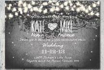 Invitations / Wedding invite inspiration