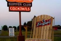 Wisconsin: Supper Clubs / They're the best places! & a few from Chicago.