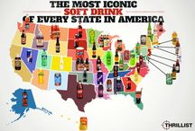 In the U.S. of A. / Big to little known facts about the United States of America. Interesting things about the U.S. of A. / by Tamara @ Gourmetmama's Kitchen