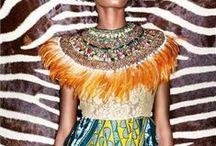 Afrochic prints