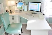 Home for an Aquarius: office & library