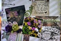 scrapbooking / by Melissa Hall