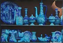 Blue & turqoise