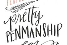 Handlettering, Fonts & Typography