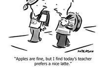 It's only funny if you're a teacher... If you teach high school English, it's hilarious! / It's the truth in the joke...