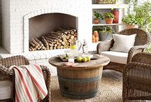 Patios & Porches / Outdoor spaces to love and enjoy