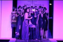 Nokia presents Rina Dhaka - WIFW AW'14 / Tassels, tall heels and stockings - what a glamorous finale for Day 1 of the WIFW, by Rina Dhaka!