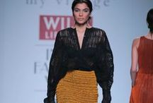 'my village' by Rimzim Dadu - WIFW AW '14 / Intense textures, complex cords and sheer creativity were the highlights from the gorgeous collection that was 'my village' by Rimzim Dadu