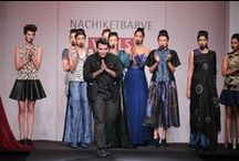 Nachiket Barve - WIFW AW '14 / Exotic and exciting, Nachiket Barve's 'Maia' was inspired from the tribal costumes and tattoos of the Maori tribe from New Zealand.