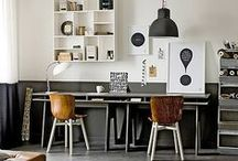 HOME | CREATIVE SPACE / surround yourself with colour and texture in the home
