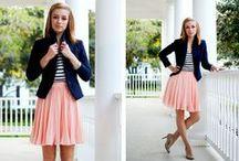 Daytime fashion : Spring & Summer