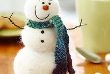 Christmas / Christmas decor and presents using a variety of craft types