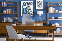 Private Office / Whether you want a colorful, rustic, warm, or modern office, we have a solution for you. Find inspiration from these creative private office set-ups.  www.insidesource.com