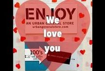 InstaValentine / All you need is love! (But a card and a gift are nice, too). Shop ugs.bz/instavalentine for ideas for the perfect Valentine's Day gift and card. Or stop by ENJOY, AN URBAN GENERAL STORE in Chicago and we can give you some great ideas.