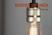 Cool...buster + punch / Lighting and furniture from English lighting and furniture brand, Buster + Punch