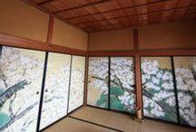 Fusuma//washitsu rooms / Japanese traditional sliding doors.  :) / by Wa-Steampunk in Edo and Meiji