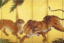 Byoubu//washitsu rooms / by Wa-Steampunk in Edo and Meiji