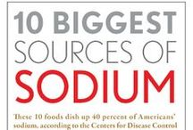 Heart-Healthy/Low Sodium Recipes / We know heart-smart and health-conscious people are always looking for fresh ideas on how to limit salt in their diets- here are some we've tracked down for you!
