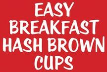 Breakfast Recipes / Ah, the most important meal of the day! Let's start you off with some great breakfast ideas!