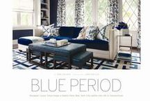 Blue Period / Check out Laura's latest feature in AT Home Magazine.