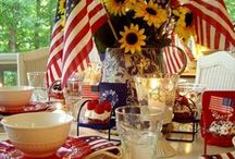 Fourth of July Food & Decorations / 4th Fun!