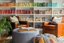 Books and Nooks / Bookshelves and cozy reading nooks!   www.insidesource.com