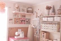 craft room ideas / by Tonda