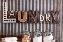Mud Rooms and Laundry Spaces / by Katy K