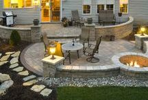 Outside Spaces and Landscaping / by Katy K