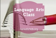 Language Arts Class / All things books and language for the home/school.
