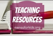 Teaching Resources / The kitchen sink of cool resources for the home/school!