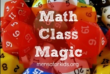 Math Class Magic / Math love is the name of the game on this board with all things math for the home/school.