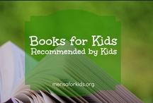 """Books for Kids Recommended by Kids / This Board shares the reviews of books that earned 5 stars from Young Mensan book reviewers. As much of the review as possible is included in the description.  For the full reviews, please see Amazon, where the reviews are published under """"Young Mensan Book Parade.""""  Here is a link to all of our reviews there: http://amzn.to/bookparade. Whenever possible, the link will take you to the publisher or author's website.  You can be sure that the bright kids in your life will enjoy these great books!"""