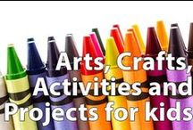 Arts, Crafts, Activities and Projects for Kids / Easy and fun arts and crafts ideas to do in the classroom or at home. If you are looking for a rainy day project, a way to explore art, or just a creative play time, this is your board.