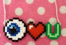 ♥♥ Hama Bead Patterns & Inspiration / Try searching for Perler beads and cross stitch designs for more inspiration!!! / by Kitty