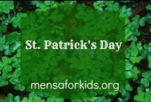 St. Patrick's Day  / Fun ideas for St. Paddy's Day for the home or classroom.