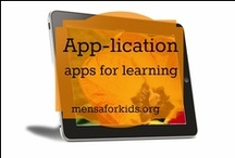 App-lication / This board shares great apps for kids, parents, and educators (sometimes all three).