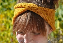 ♥♥ Knit: Flowers, Leaves, Hair & Jewellery / by Kitty
