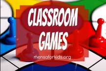 Classroom Games  / Games make learning even more fun that it already is! Find great games (some store-bought, some ready-made) to use in the home or classroom.