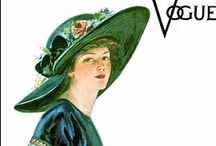 Vintage covers and covergirls / We adore today's Cosmo and Vogue but what about the vintage ones? We share some ideas on how they looked like and may have looked like.