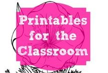 Printables and Color pages / Printables for use in the home or classroom.  Always free, although free registration may be required in some instances.
