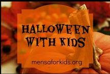 Halloween with Kids / Great ideas for home and school for enjoying Halloween!