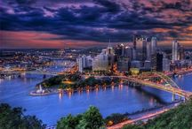 Pittsburgh / Pittsburgh is a modern success story. Air quality controls, stream purification laws, and the razing and redesign of congested areas since World War II have resulted in a city that surprises first-time visitors. Nestled among the forested hills of southwestern Pennsylvania at the point where the Allegheny and Monongahela Rivers form the Ohio River, the new Pittsburgh is a city of skyscrapers, parks, fountains, more than 700 bridges, and close-knit neighborhoods with a vibrant cultural life. / by Tim Lehner